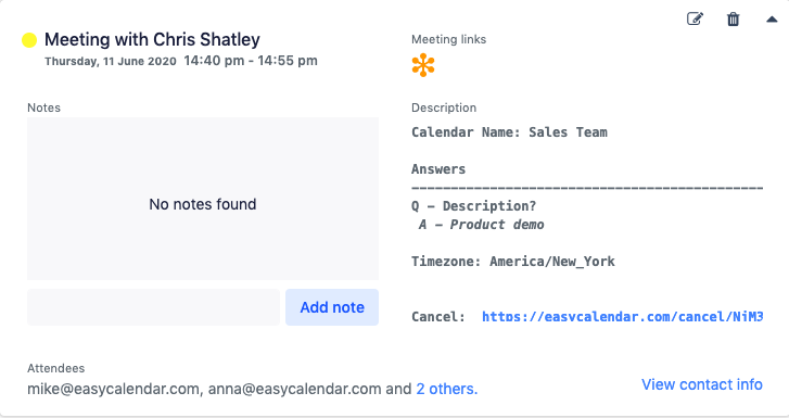 GoToMeeting Integration: EasyCalendar
